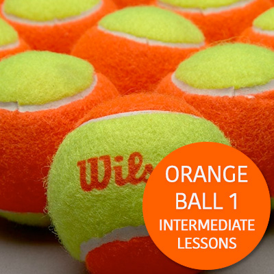 Intermediate Lessons Orange Ball 1