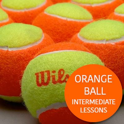 Intermediate Lessons Orange Ball